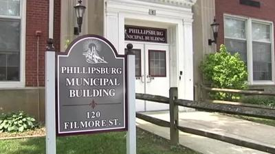 Phillipsburg Municipal Building sign generic town council