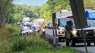 Construction workers find fatal crash scene off I-80 in Kidder Township