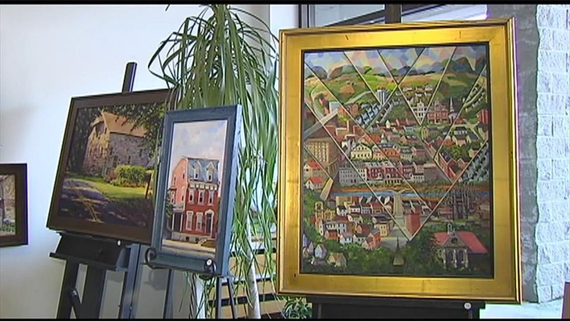 99-year-old woman's artwork collection to debut in Emmaus
