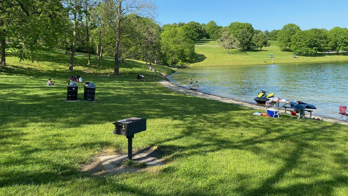 Blue Marsh Lake on Memorial Day weekend