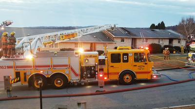 Four families displaced after apartment bldg. fire in Slatington
