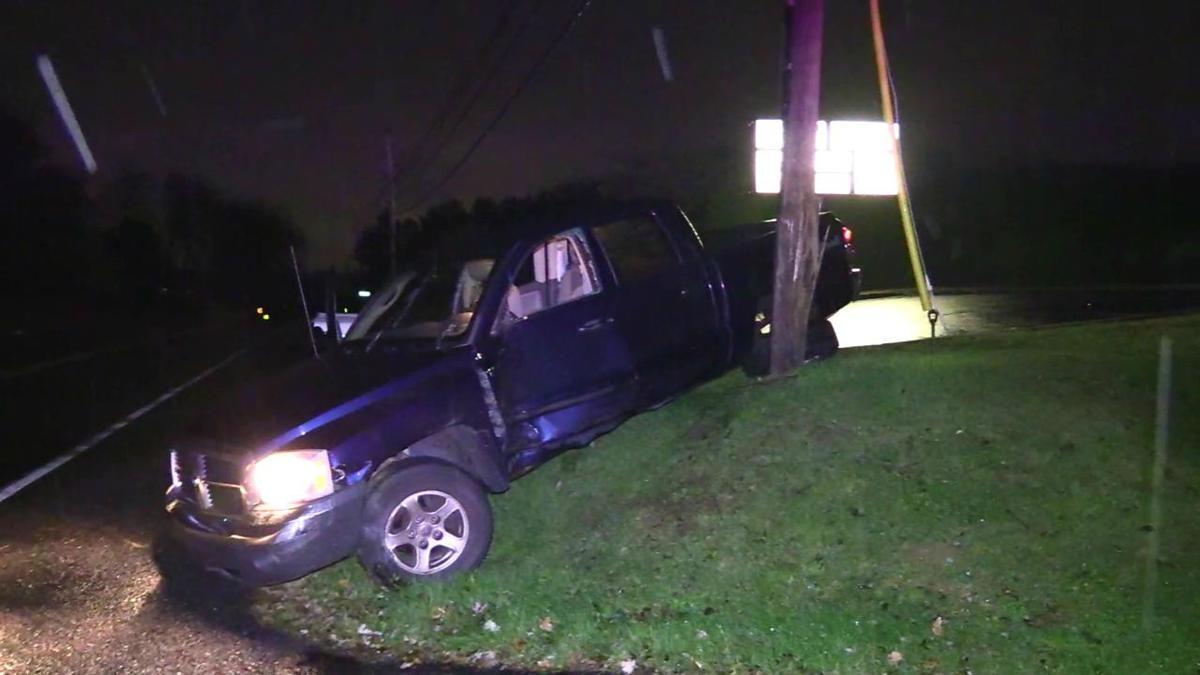 Lower Nazareth police chase crash