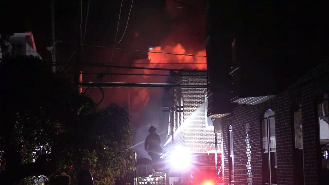 UGI: No signs of gas leak in Allentown row home fire