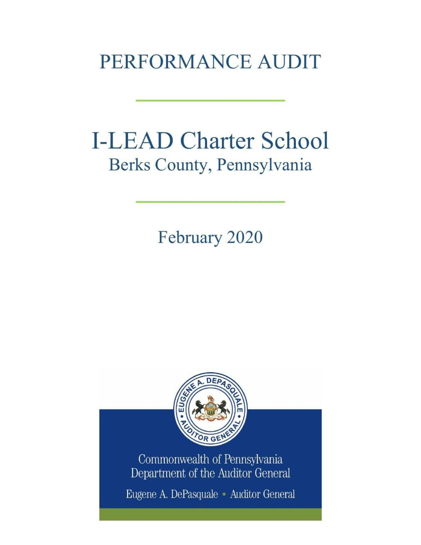 READ: Pa. audit of I-LEAD Charter School
