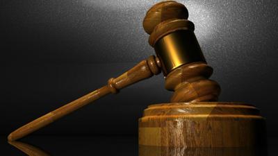 Generic courtroom gavel