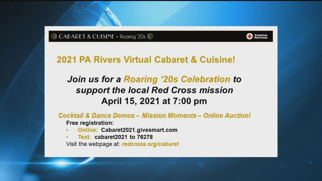 American Red Cross goes virtual for 2021 Cabaret and Cuisine