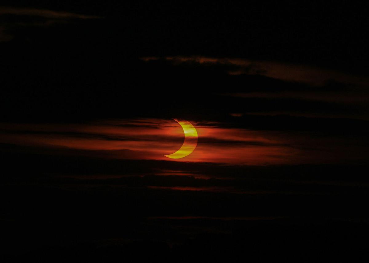 Partial Solar Eclipse in Allentown
