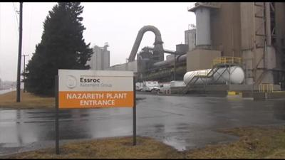 Worker at Northampton County cement plant lost part of leg in accident