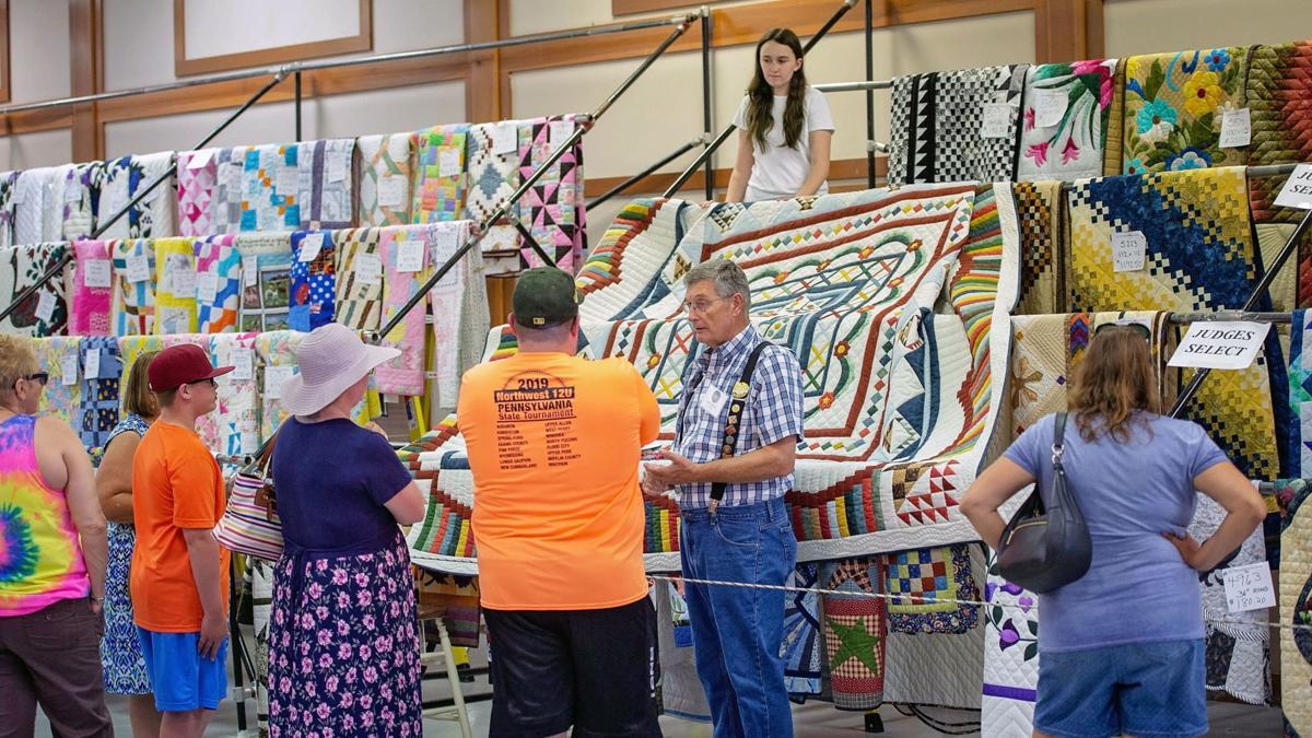 Kutztown Folk Festival quilt barn