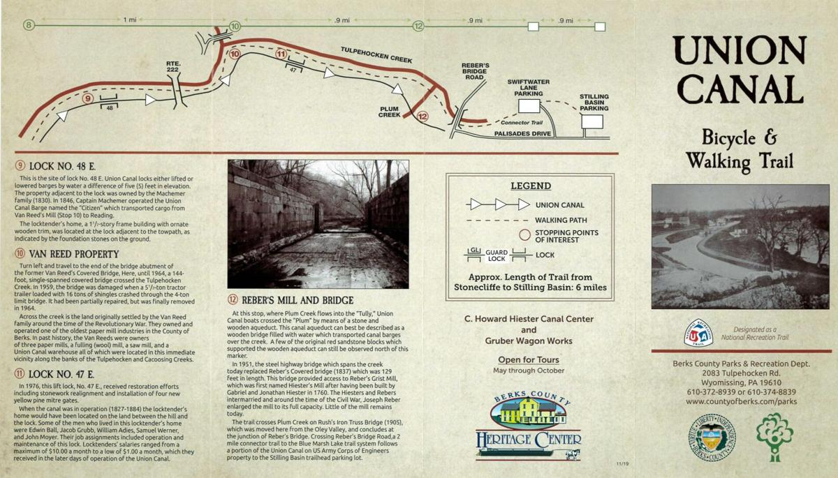 Union Canal Trail brochure