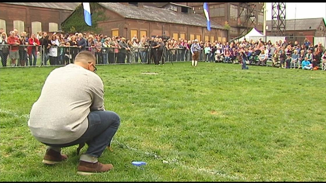 SteelStacks holds annual Weiner Dog Race