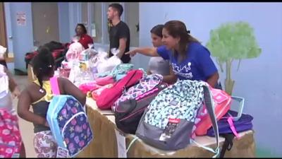 Salvation Army holds annual backpack giveaway