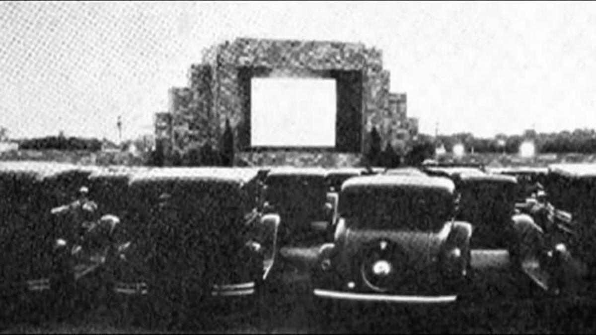 Camden Town Porno history's headlines: drive-ins revisited | history's