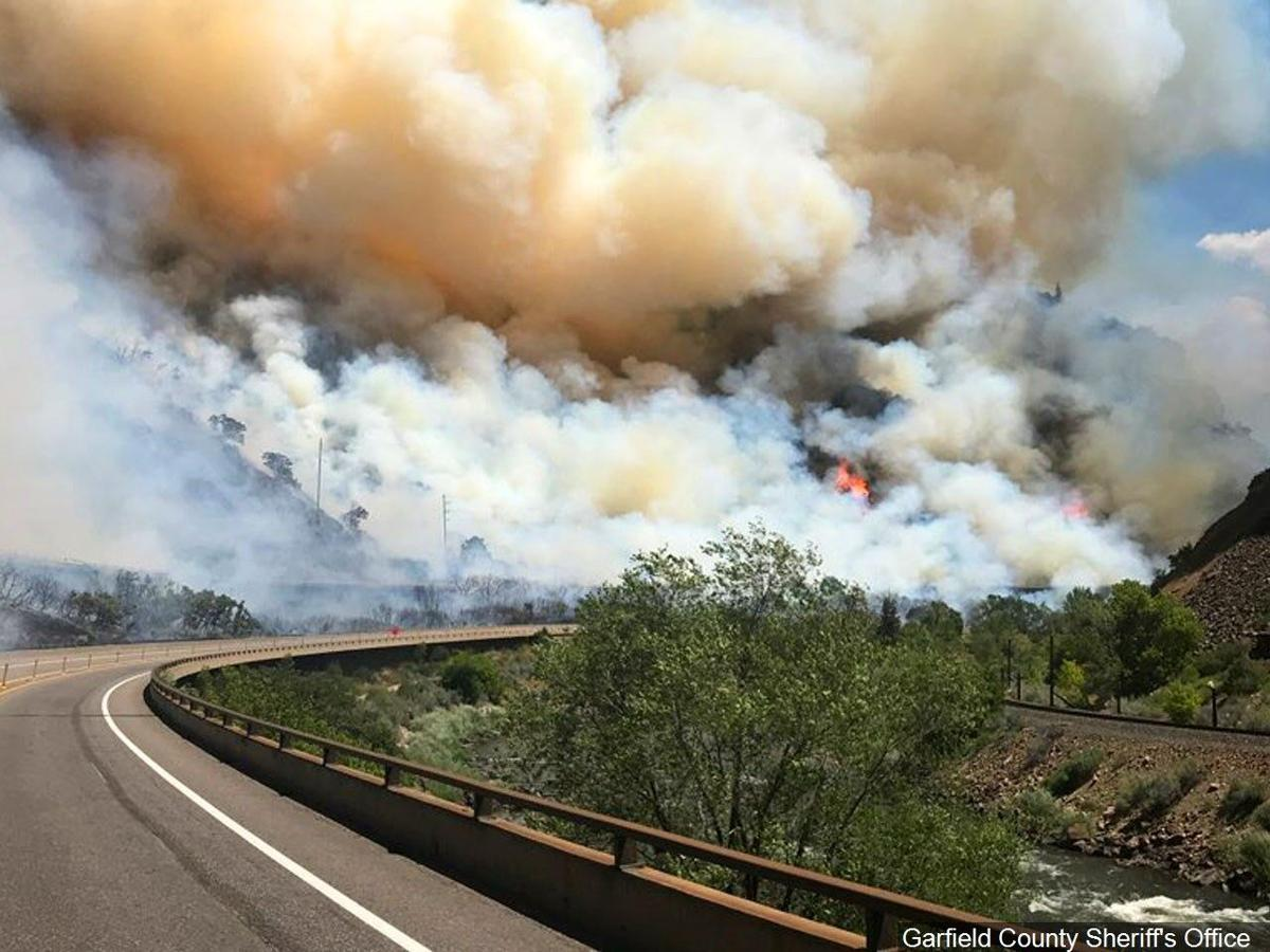 Cal. wildfire