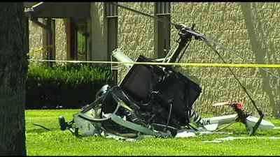 NTSB: Warning light came on shortly before helicopter collided with building in August