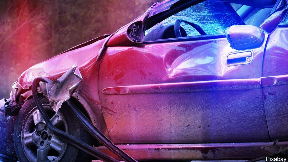 DUI suspected in crash that caused driver to hit unmarked police sedan