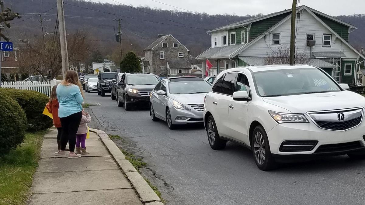 Mt. Penn teacher parade