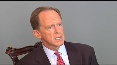 Sen. Pat Toomey says climbing federal budget deficit something that needs to be watched