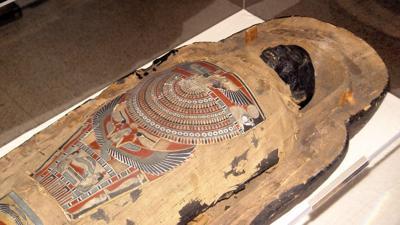 Reading Public Museum mummy Nefrina