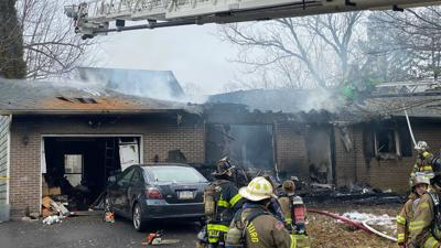 Coopersburg house fire