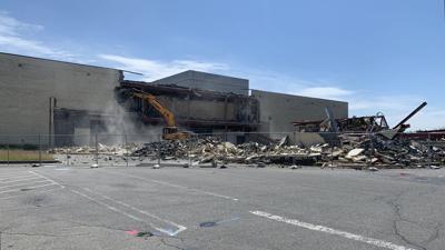 Demolition of Fairgrounds Square Mall in Muhlenberg
