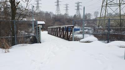 Reading gateway section of Thun Trail - Schuylkill River Trail in Cumru