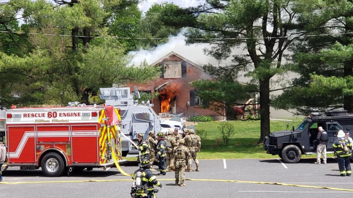 Hilltown Township fire