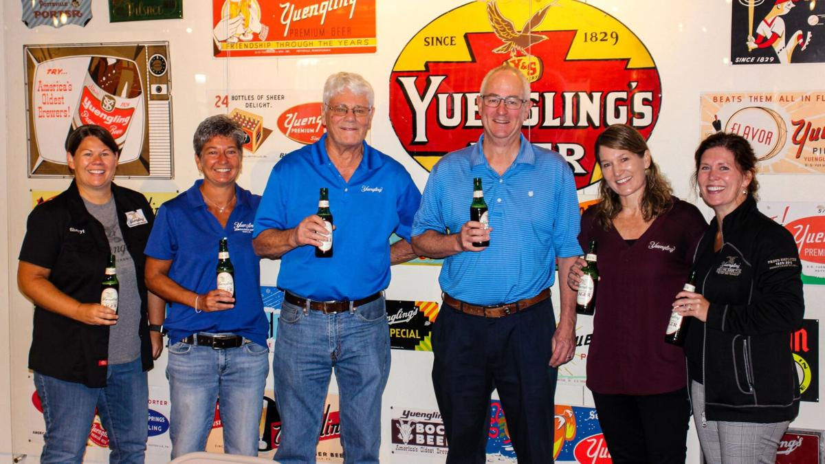 Yuengling family and Molson Coors CEO Gavin Hattersley