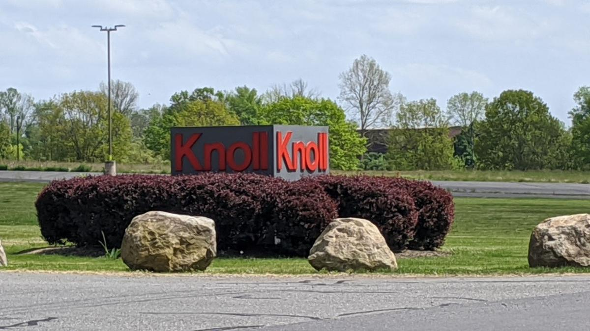 Knoll sign Upper Hanover Township East Greenville Montgomery County generic