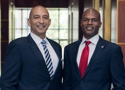 Derek Taylor (l), chief operating officer, Darnell Parker  (r), founder, Ingenious Financial
