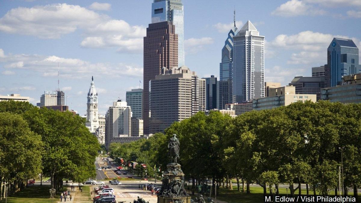 Benjamin Franklin Parkway in Philadelphia
