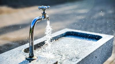 Water faucet spigot fountain generic