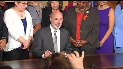 Gov. Wolf signs executive order aimed at addressing gun violence