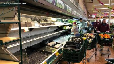 Gerrity's Supermarket trashed produce