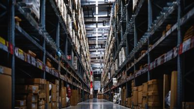 Warehouse interior generic