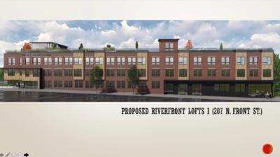 Proposed Riverfront Lofts