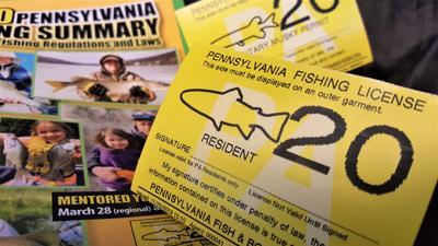 Pa. fishing license