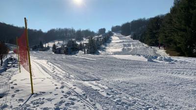 Bear Creek Mountain Resort ski slope