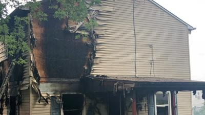 Fire heavily damages home in Allentown
