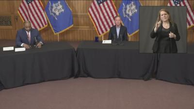 Lamont's Friday news conference