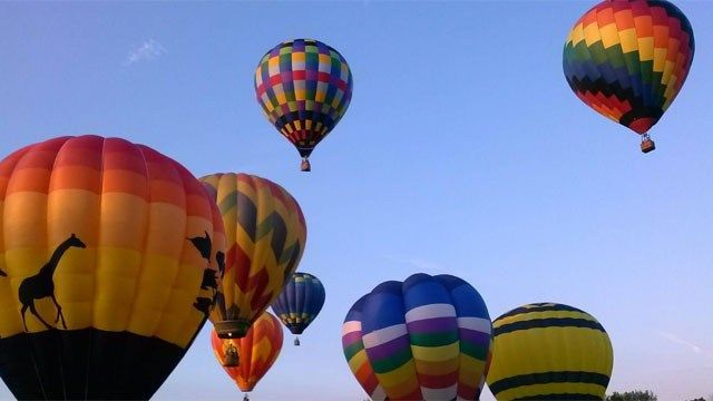 32nd annual Balloon Festival begins in Plainville