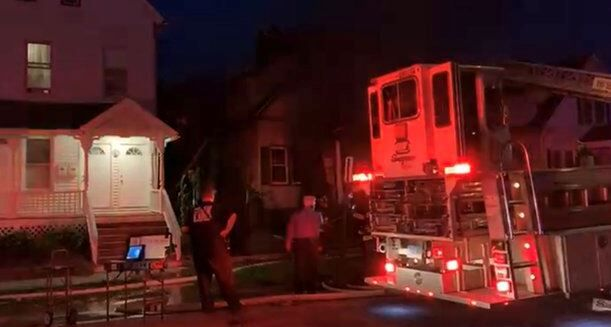 New Haven 2 Alarm Fire
