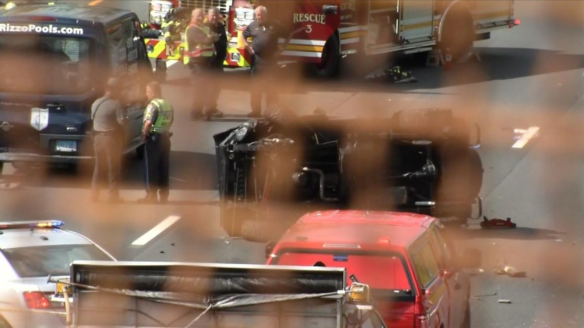 Man killed, child injured in I-91 crash in Rocky Hill