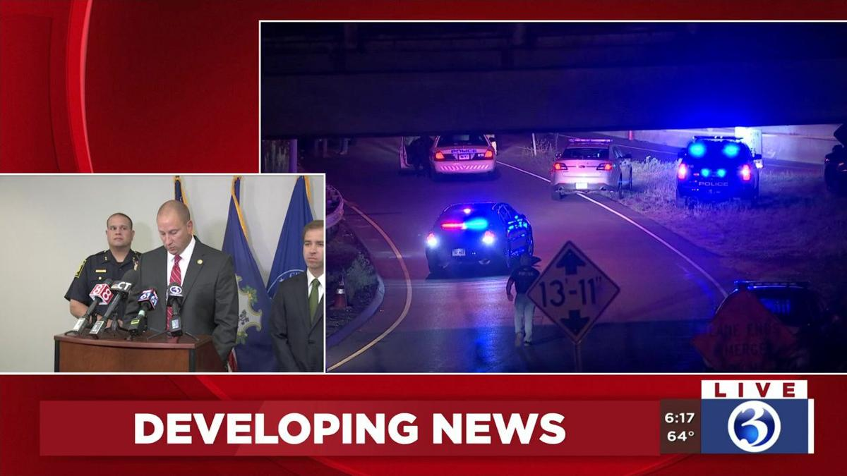 VIDEO: Officials provide update on Friday night officer-involved shooting  in Hartford