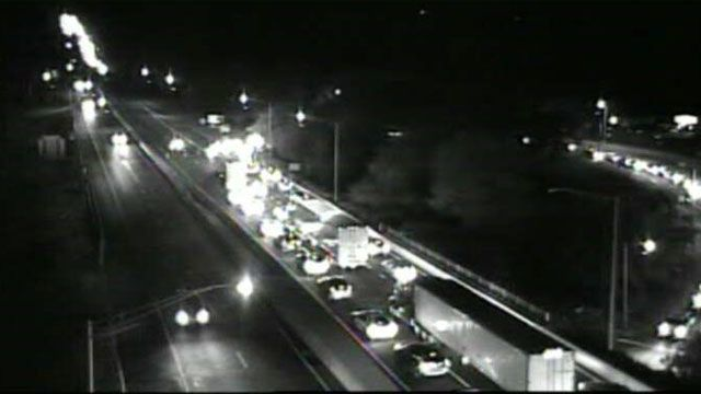 I-95 in East Lyme reopens after multi-vehicle crash