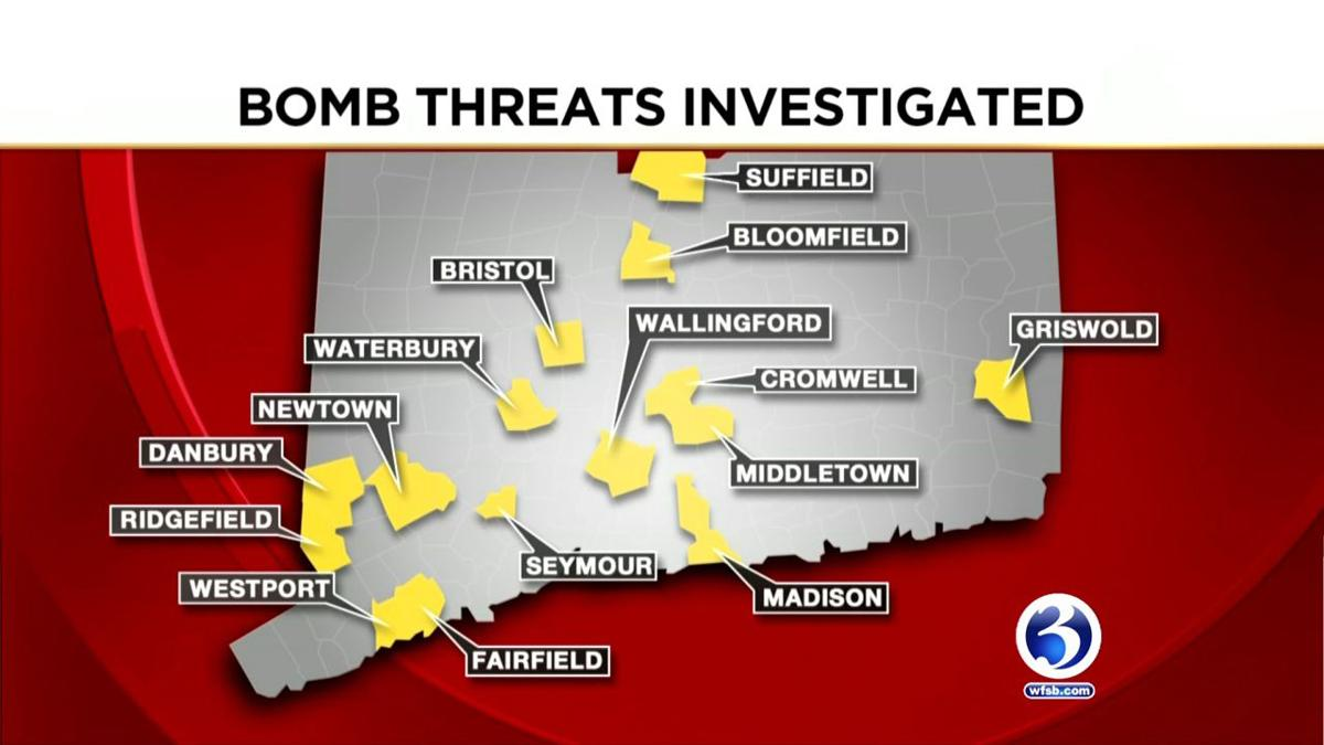 Numerous bomb threats made across the state, including