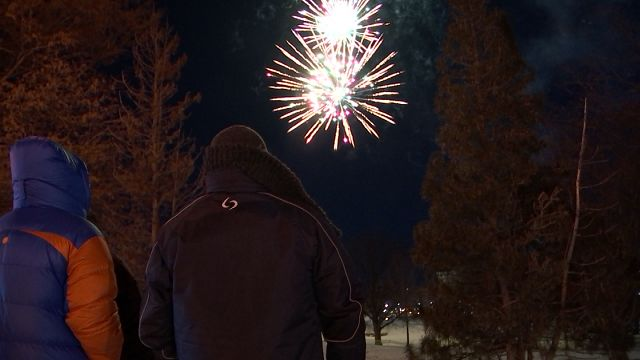 Hartford rings in the New Year with festivities and fireworks on Sunday