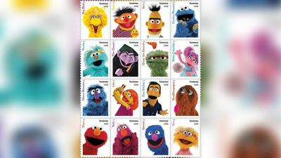 Seasame Street Forever Stamps