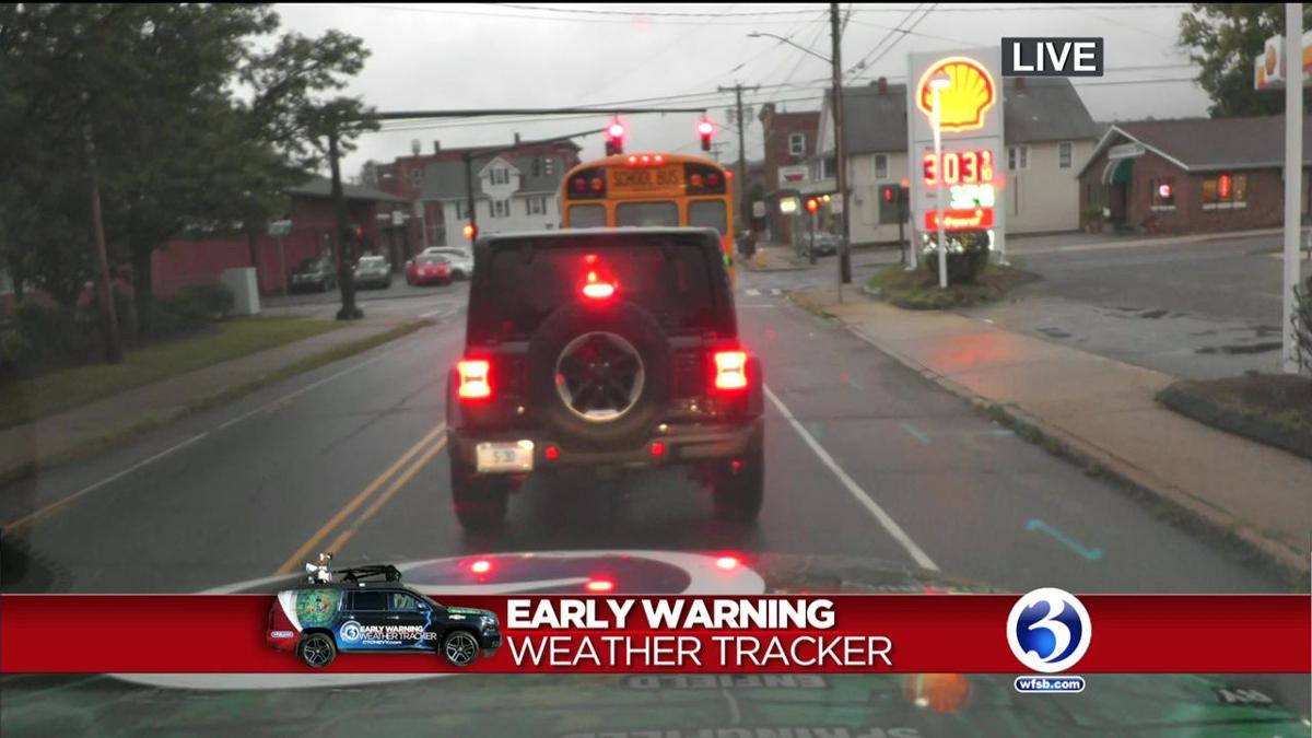 VIDEO: Florence's heavy rains could create tricky commutes