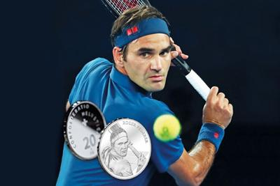 Roger Federer gets own Swiss coin...and you can buy it